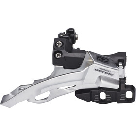 Shimano Deore FD-M610 Forskifter Top Swing 3x10-speed, silver